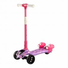 Самокат Смешарики с турбинами Фиолетовый